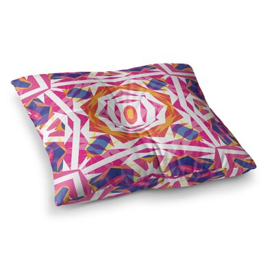 Miranda Mol Paradise Square Floor Pillow Size: 26 x 26
