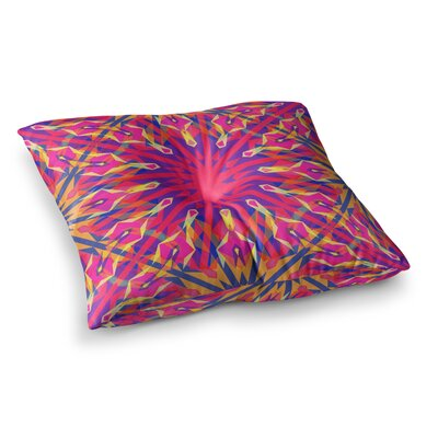 Miranda Mol Whirling Square Floor Pillow Size: 26