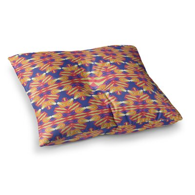 Miranda Mol Ethnic Border Square Floor Pillow Size: 23 x 23