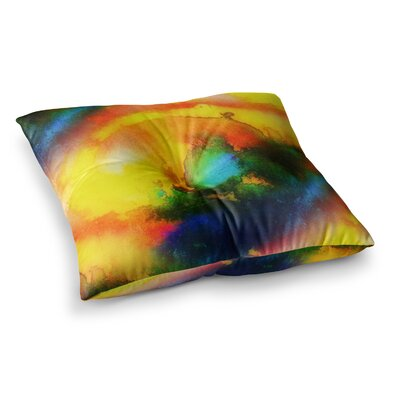 Mimulux Patricia No Good Vibrations Square Floor Pillow Size: 23 x 23