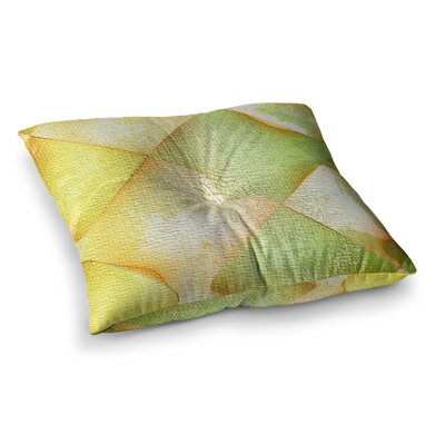 Mimulux Patricia No Citrus Grunge Digital Square Floor Pillow Size: 26 x 26