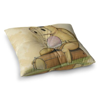 Matthew Reid in All the Square Floor Pillow Size: 23 x 23
