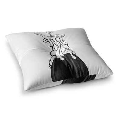 Matthew Reid 17 Square Floor Pillow Size: 23 x 23