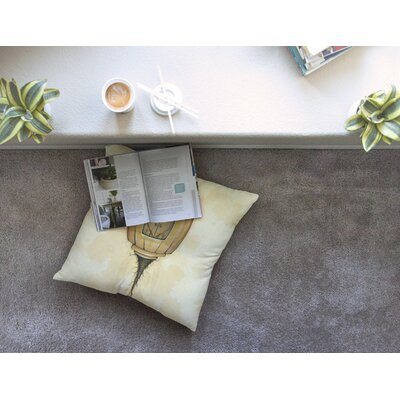 Matthew Reid Her Square Floor Pillow Size: 26 x 26