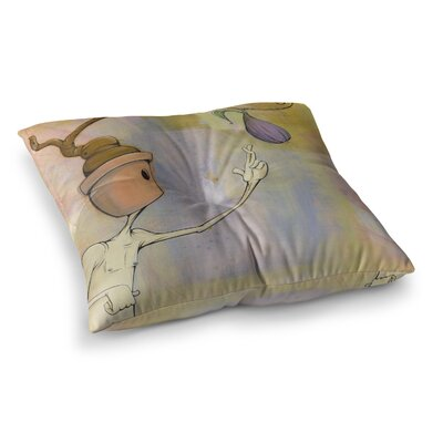 Matthew Reid Fruit Square Floor Pillow Size: 23 x 23