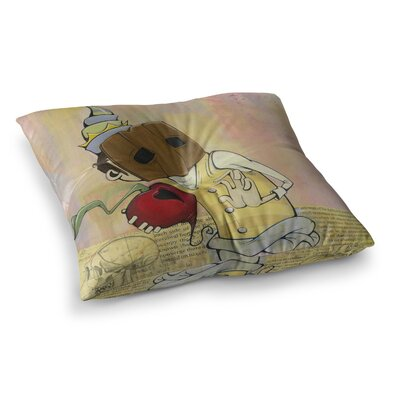 Matthew Reid Thalamus Square Floor Pillow Size: 23 x 23