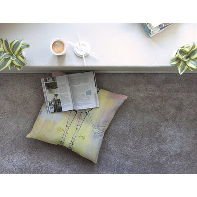 Matthew Reid Good Day Square Floor Pillow Size: 23 x 23