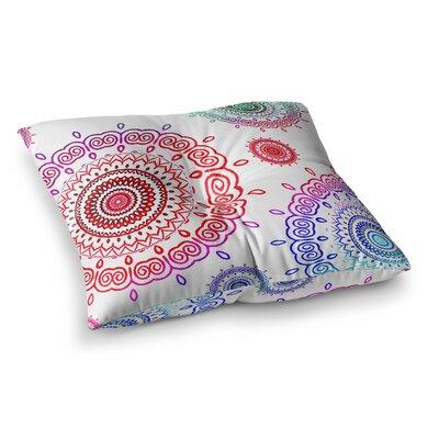 Monika Strigel Infinity Square Throw Pillow Size: 23 x 23