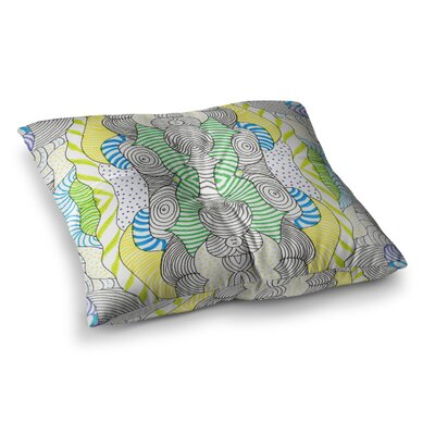 Monika Strigel Wormland Square Throw Pillow Size: 23 x 23