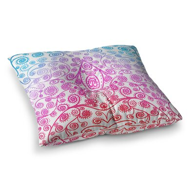 Monika Strigel Safe and Sound Square Throw Pillow Size: 26 x 26