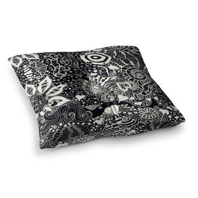 Monika Strigel Neptunes Garden Square Throw Pillow Size: 26 x 26, Color: Black