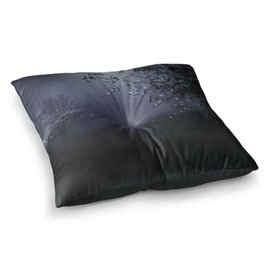 Monika Strigel Song of the Nightbird Square Throw Pillow Size: 26 x 26