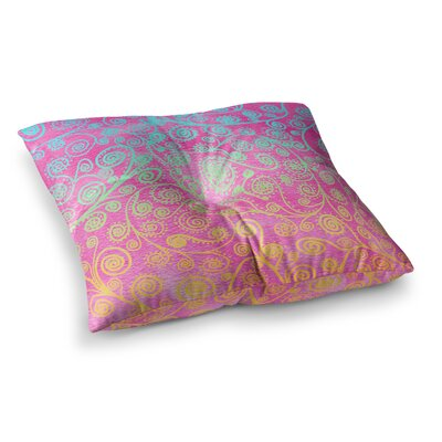 Monika Strigel Get Lucky Square Throw Pillow Size: 23 x 23