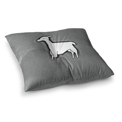 Monika Strigel Llama One Square Throw Pillow Size: 23 x 23