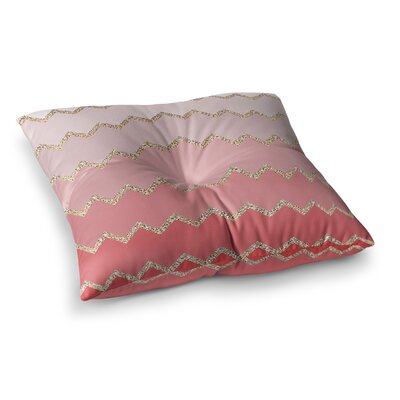 Monika Strigel Avalon Square Throw Pillow Size: 23 x 23, Color: Pink