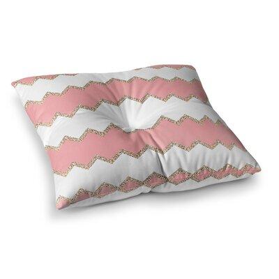 Monika Strigel Avalon Chevron Square Throw Pillow Size: 23 x 23, Color: Mint