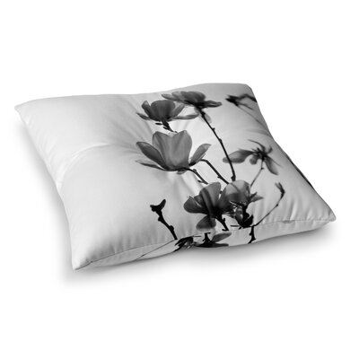 Monika Strigel Mulan Magnolia Square Throw Pillow Size: 26 x 26