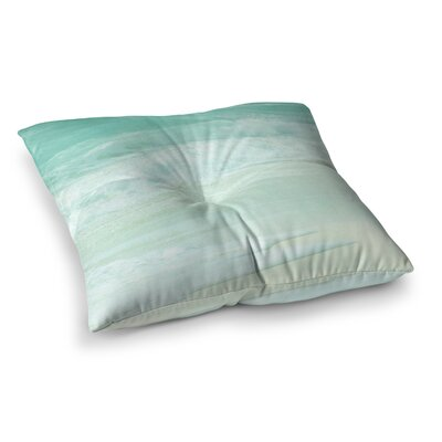Monika Strigel Paradise Beach Square Throw Pillow Size: 23 x 23