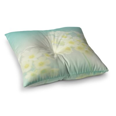 Monika Strigel Happy Spring Square Throw Pillow Size: 26 x 26