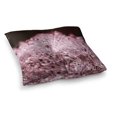 Monika Strigel Marsala Dandelion Diamonds Square Throw Pillow Size: 26 x 26