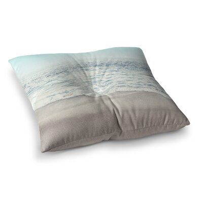 Monika Strigel the Sea Square Throw Pillow Size: 23 x 23