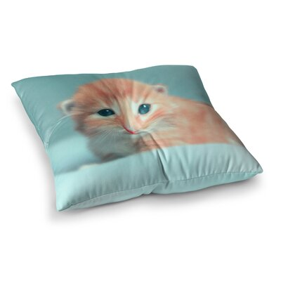 Monika Strigel Dreamcat Square Throw Pillow Size: 23 x 23