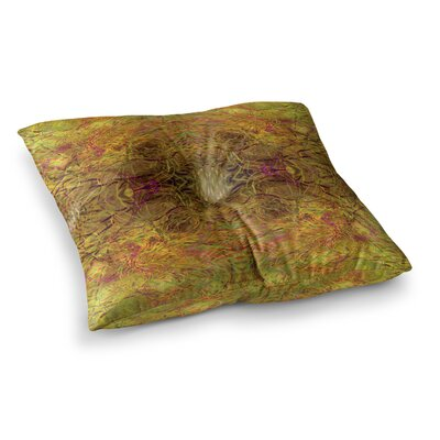 Nikposium Clearwater Square Floor Pillow Size: 23 x 23, Color: Yellow