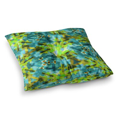 Michael Sussna Pollenesia Square Floor Pillow Size: 23 x 23