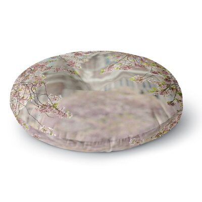 Sylvia Cook Pink Dream Round Floor Pillow Size: 23 x 23
