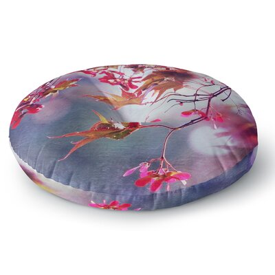 Sylvia Cook Autumn Round Floor Pillow Size: 23 x 23