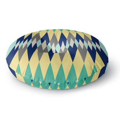 SusanaPaz Sweet Tribal Digital Round Floor Pillow Size: 26 x 26