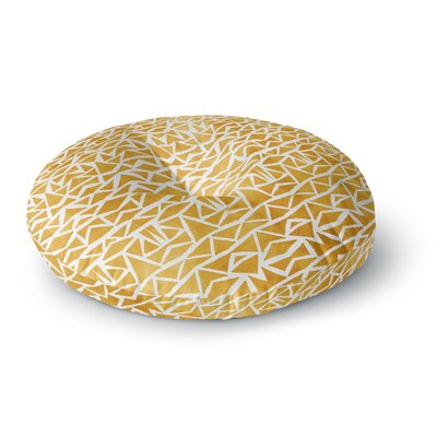 Pom Graphic Design Tribal Origin Round Floor Pillow Size: 23 x 23