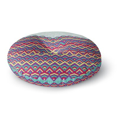 Pom Graphic Design Horizons Round Floor Pillow Size: 26 x 26
