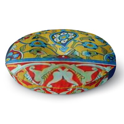 S Seema Z PERSIAN MOOD Round Floor Pillow Size: 23 x 23
