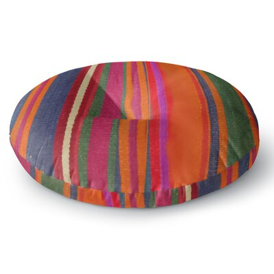 S Seema Z LINE ART Round Floor Pillow Size: 23 x 23