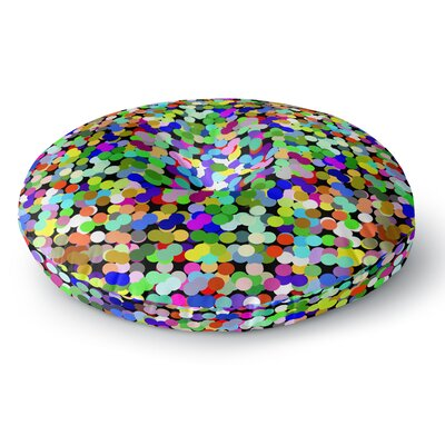 Trebam Zumbati Digital Round Floor Pillow Size: 26 x 26