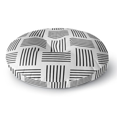 Trebam Postrance Digital Round Floor Pillow Size: 23 x 23