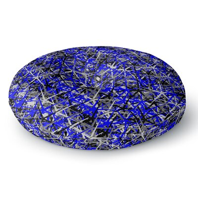 Trebam Kaktus Digital Round Floor Pillow Size: 26 x 26