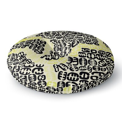 Theresa Giolzetti Oliver Round Floor Pillow Size: 26 x 26