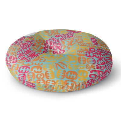 Theresa Giolzetti Oliver Round Floor Pillow Size: 23 x 23