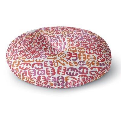 Theresa Giolzetti Oliver Round Floor Pillow Size: 26 x 26