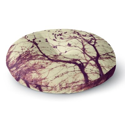 Sylvia Coomes Darkness into Light Nature Round Floor Pillow Size: 23 x 23