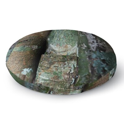 Susan Sanders Into the Woods Rustic Round Floor Pillow Size: 23 x 23