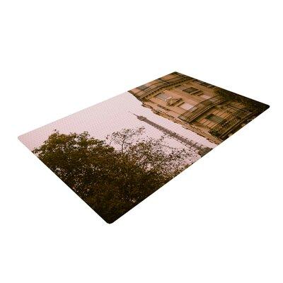 Ann Barnes Lady Beckons Blush/Tan Area Rug Rug Size: 4 x 6