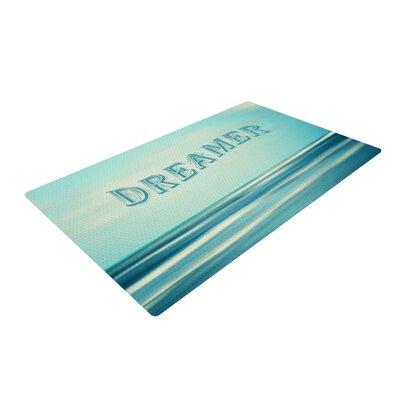 Ann Barnes Dreamer Blue/Teal Area Rug Rug Size: 4 x 6