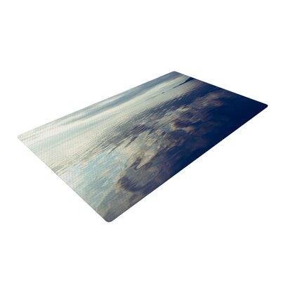Ann Barnes Cloud Atlas Water Blue/Gray Area Rug Rug Size: 2 x 3