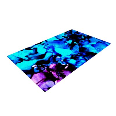 Claire Day Peace Offering Blue/Aqua Area Rug Rug Size: 4 x 6
