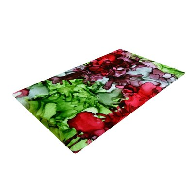 Claire Day TMNT Green/Maroon Area Rug Rug Size: 2 x 3