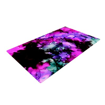 Claire Day Siren Pink/Purple Area Rug Rug Size: 2 x 3
