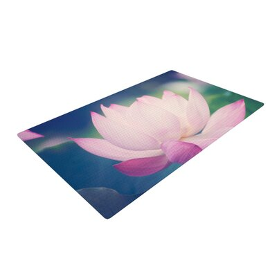Catherine McDonald Hope for Tomorrow II Green/Pink Area Rug Rug Size: 4 x 6